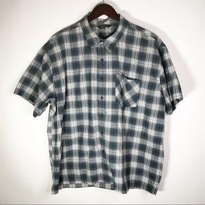 Royal Robbins Short Sleeve Button Down Shirt XXL